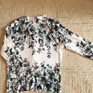 White House Black Market Sweaters - WHBM 3/4 Sleeve Cardigan with Jeweled Snaps!